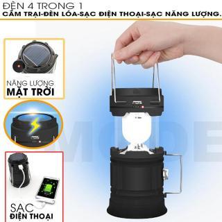 Đèn Cắm Trại - Có Cổng Sạc USB, Tích Điện Lâu, Thiết Kế Gọn Nhẹ Tiện Sử Dụng - (BẢO HÀNH 6 THÁNG) thumbnail
