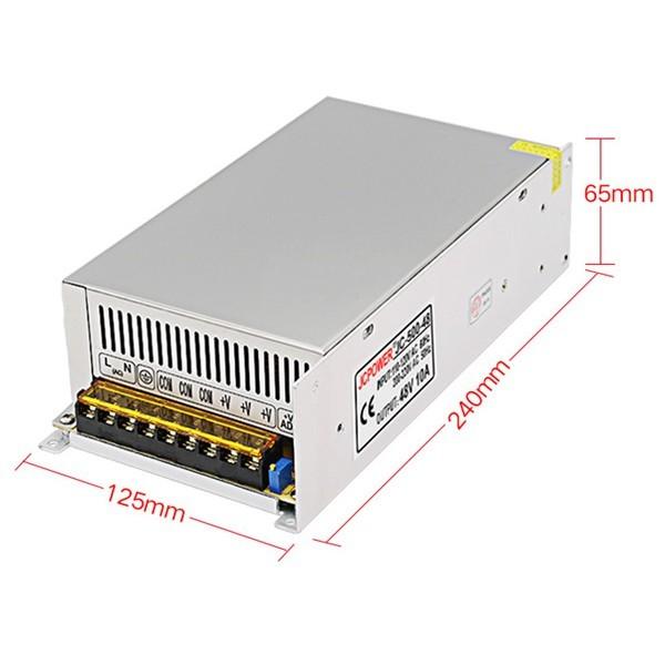 Nguồn xung tổ ong 48V 7.5A - 10A – JC Power