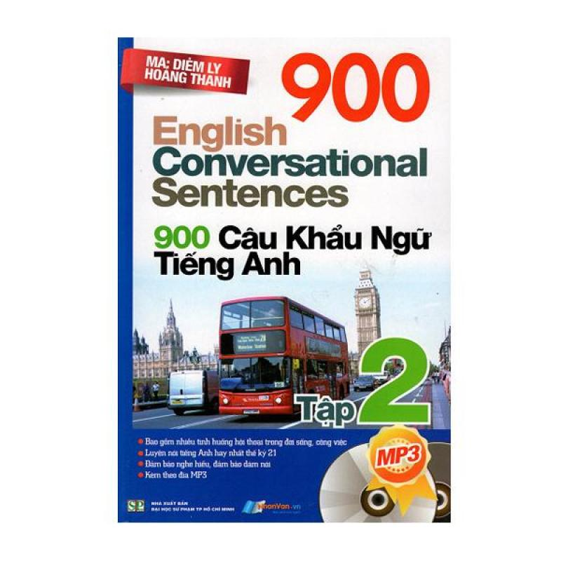 900 Câu Khẩu Ngữ Tiếng Anh (Tập 2) - 8935072882099