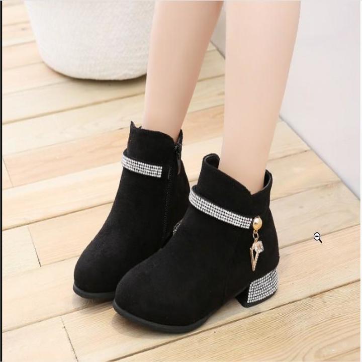 Giá bán Giày Boot ( cao cấp ) cho bé gái phong cách hàn quốc EB002D