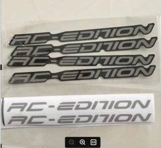 [HCM]Tem rc edition xám dán chân phuộc đen thumbnail
