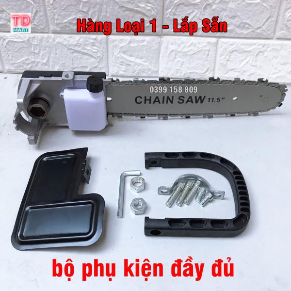 [Hàng Loại 1] Bộ Lam Cưa Xích Gắn Máy Cắt Cầm Tay dùng cho tất cả các loại máy mài
