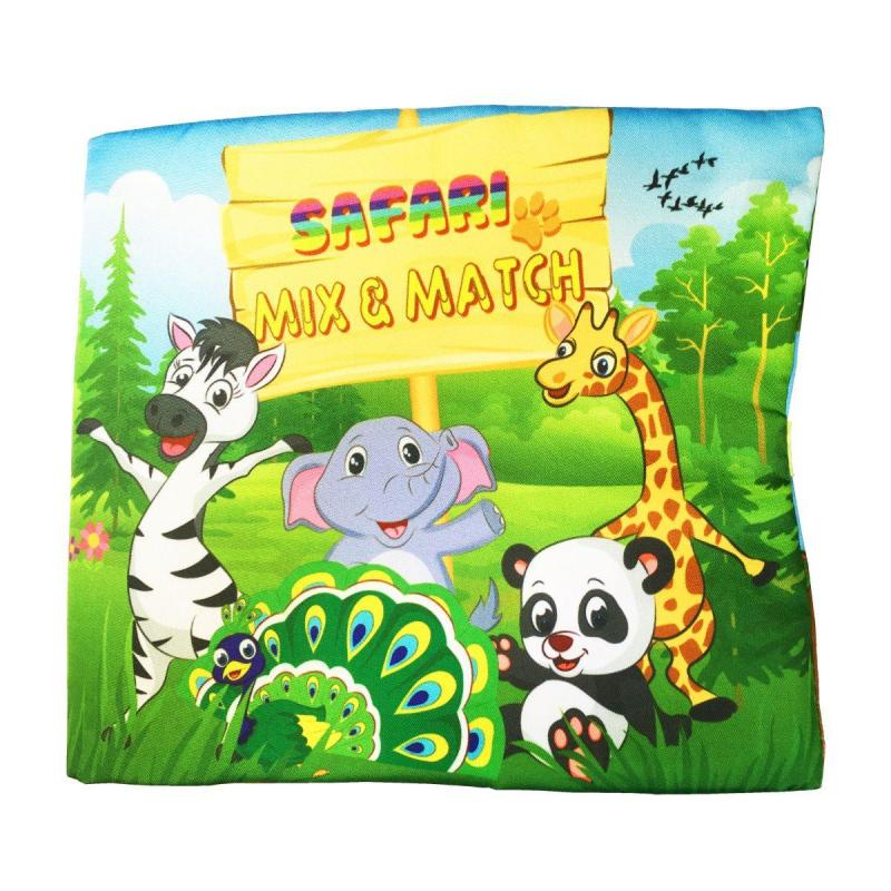 Sách vải Safari - Mix & Match