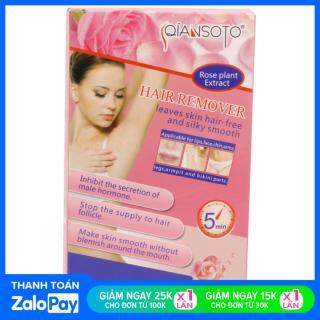 QIANSOTO Kem Tẩy Lông Cấp ẩm Tái Tạo Da Triệt Lông Wax Lông Hair Remover thumbnail