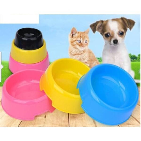 (3 loại)-Bát nhựa chó mèo- Ăn, Uống tự động cấp nước bát ăn chó, bát uống mèo, bát ăn uống thứ cưng
