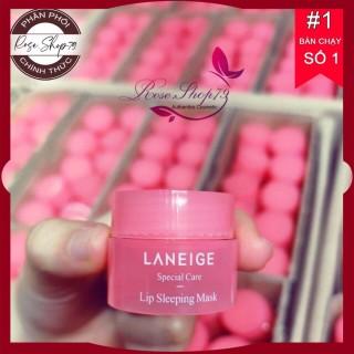 Ủ môi Laneige siêu hồng căng mộng, cam kết hàng đúng mô tả, chất lượng đảm bảo an toàn đến sức khỏe người sử dụng thumbnail