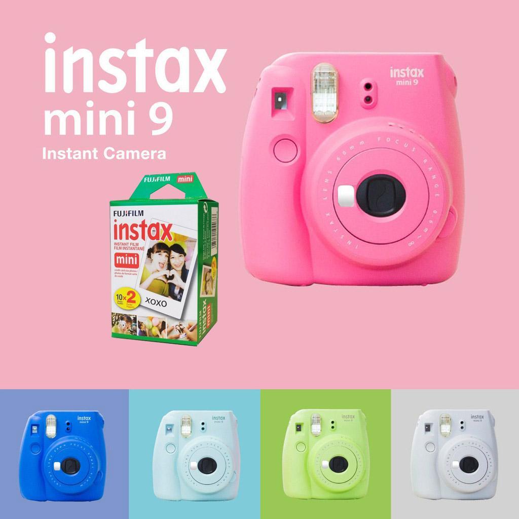 Máy ảnh Chụp Lấy Liền FujiFilm Instax Mini 9 ( Tặng Kèm Phim Fujifilm ) Đang Khuyến Mại Khủng