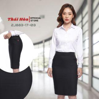Chân váy dài Thái Hòa 2J883-03 Chân váy công sở dài, đủ màu, dáng ôm,Chất liệu vải nhẹ,độ bền màu cao thumbnail