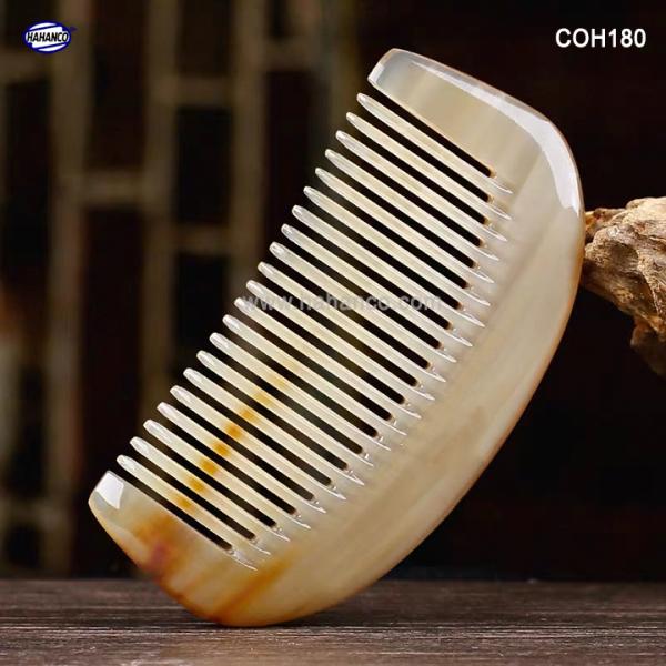 Lược sừng mini đẹp (Size: XS - 9cm) - COH180