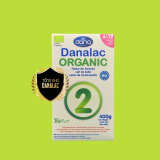 Sữa DANALAC ORGANIC FORMULAR dành cho trẻ sơ sinh 400g DOF02400 thumbnail