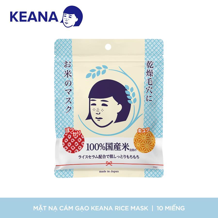 Mặt Nạ Cám Gạo Dạng Đắp Keana Rice Mask (165 mL/ 10 Cái) cao cấp