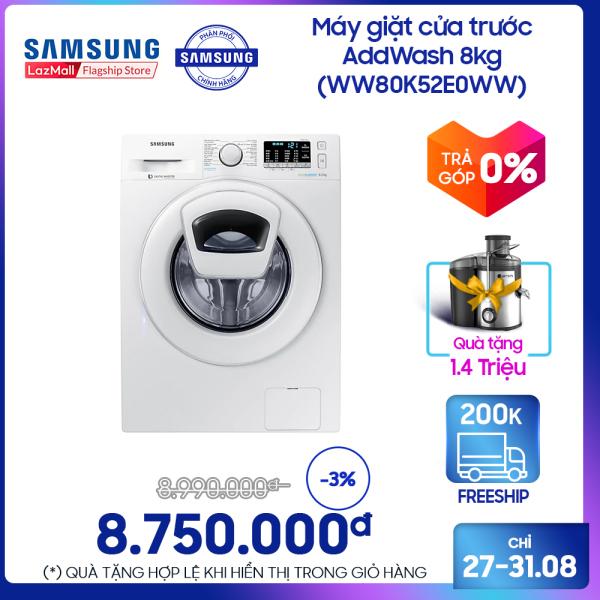 Bảng giá Máy giặt cửa trước Samsung AddWash 8kg - WW80K52E0WW Điện máy Pico