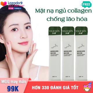 [Giá dùng thử] Set 3 gói mặt nạ dưỡng da collagen YOUR SKIN dạng gel chống lão hóa làm sáng da mặt nạ ngủ dưỡng ẩm mặt nạ ngủ dưỡng trắng mặt nạ nội địa Trung XP-MN301 thumbnail