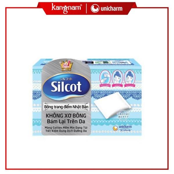 Bông Tẩy Trang Silcot Cơ Bản 82 Miếng Silcot Velvety Touch Cotton cao cấp