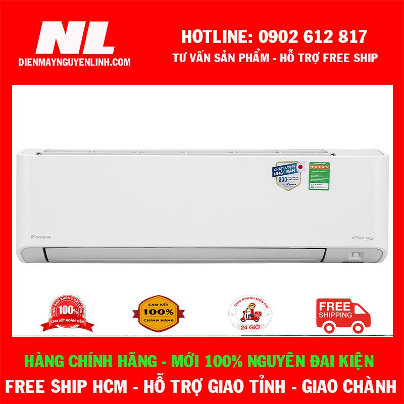 [HCM][Cao cấp 2021] Máy lạnh Daikin Inverter 1 HP FTKZ25VVMV