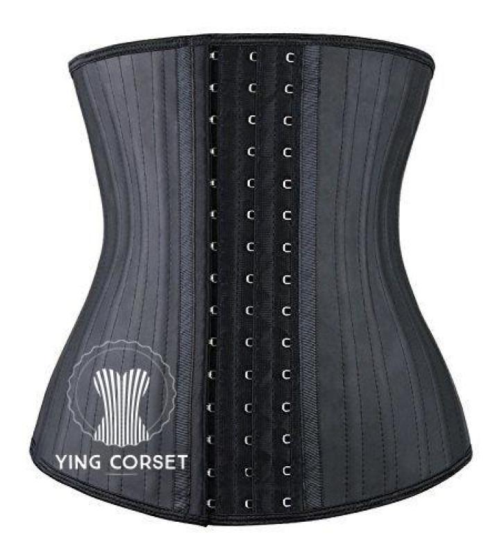 Đai nịt bụng giảm eo LATEX 25 XƯƠNG 29cm Lớp ngoài 100% cao su non mật độ thấp Lớp trong 100% coton giúp thấm mồ hôi cực tốt