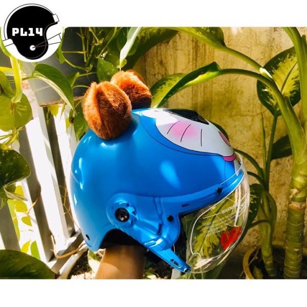 Giá bán Nón Bảo Hiểm Trẻ Em Doremon Có Kính V&S Helmet Cho bé Từ 3-6 Tuổi
