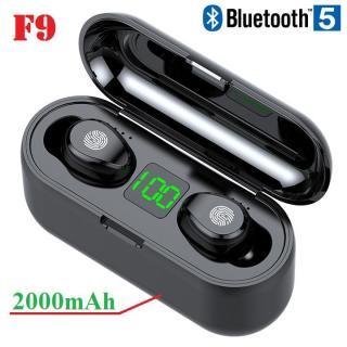 Tai nghe Bluetooth 5.0 - Tai nghe cảm ứng TWS F9 phiên bản mới thumbnail