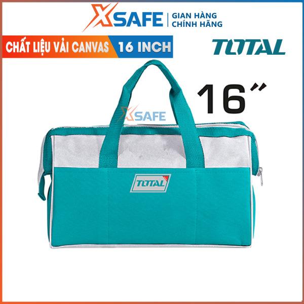 Giỏ đựng công cụ TOTAL THT26161 16 inch.Được làm từ vải dù chống nhăn dễ vệ sinh hạn chế bụi bẩn. Gọn nhẹ và dễ dàng mang theo.