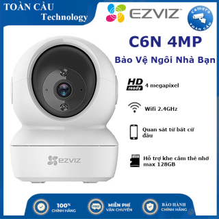 [100% CHÍNH HÃNG] Camera IP Wifi Ezviz C6N 4MP - Độ Phân Giải Cao, Theo Dõi Thông Minh , Phát Hiện Chuyển Động - Camera Toàn Cầu thumbnail