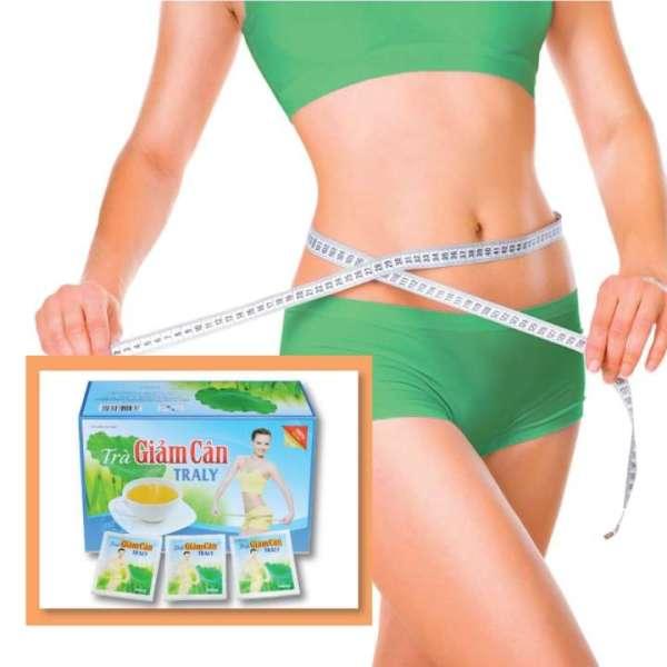 Trà Thảo Dược Traly - Giảm cân tan mỡ hiệu quả