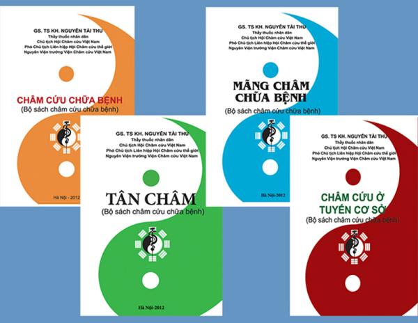 Bộ sách Châm cứu 4 cuốn (GS.TSKH Nguyễn Tài Thu)