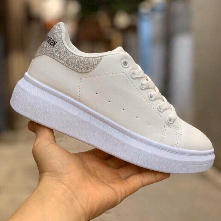 Giày sneaker thể thao thời trang màu trắng H117B giá rẻ