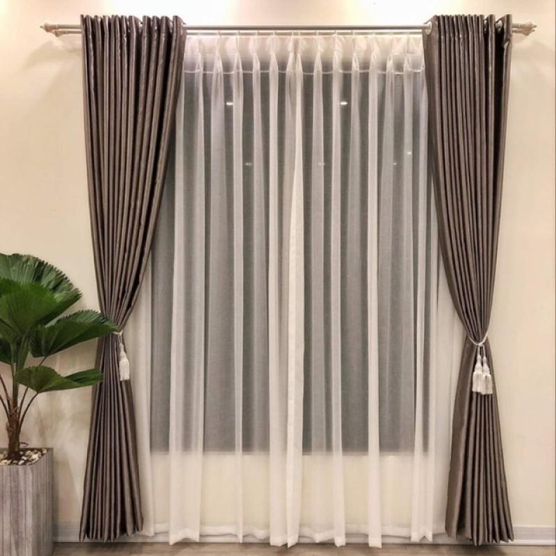Rèm vải cản sáng 95% nhiều size có sẵn , sản phẩm tốt, chất lượng cao, cam kết sản phẩm nhận được như hình