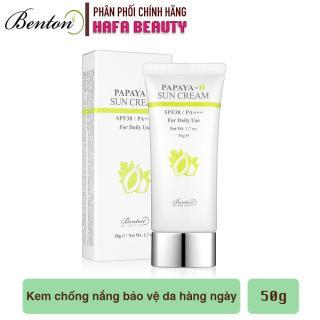 Kem chống nắng hằng ngày cho mọi loại da Benton Papaya-D Sun Cream SPF38 PA+++ 50g thumbnail