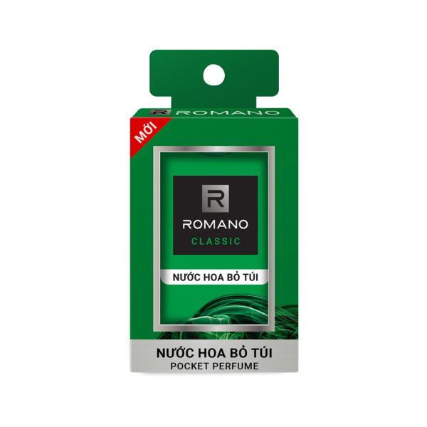 Nước hoa bỏ túi Romano Classic 18ml tiện dụng, hương thơm nam tính đặc biệt