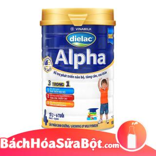 Sữa bột Dielac Alpha 4 900g (Dành cho trẻ tù 2 - 6 tuổi) thumbnail