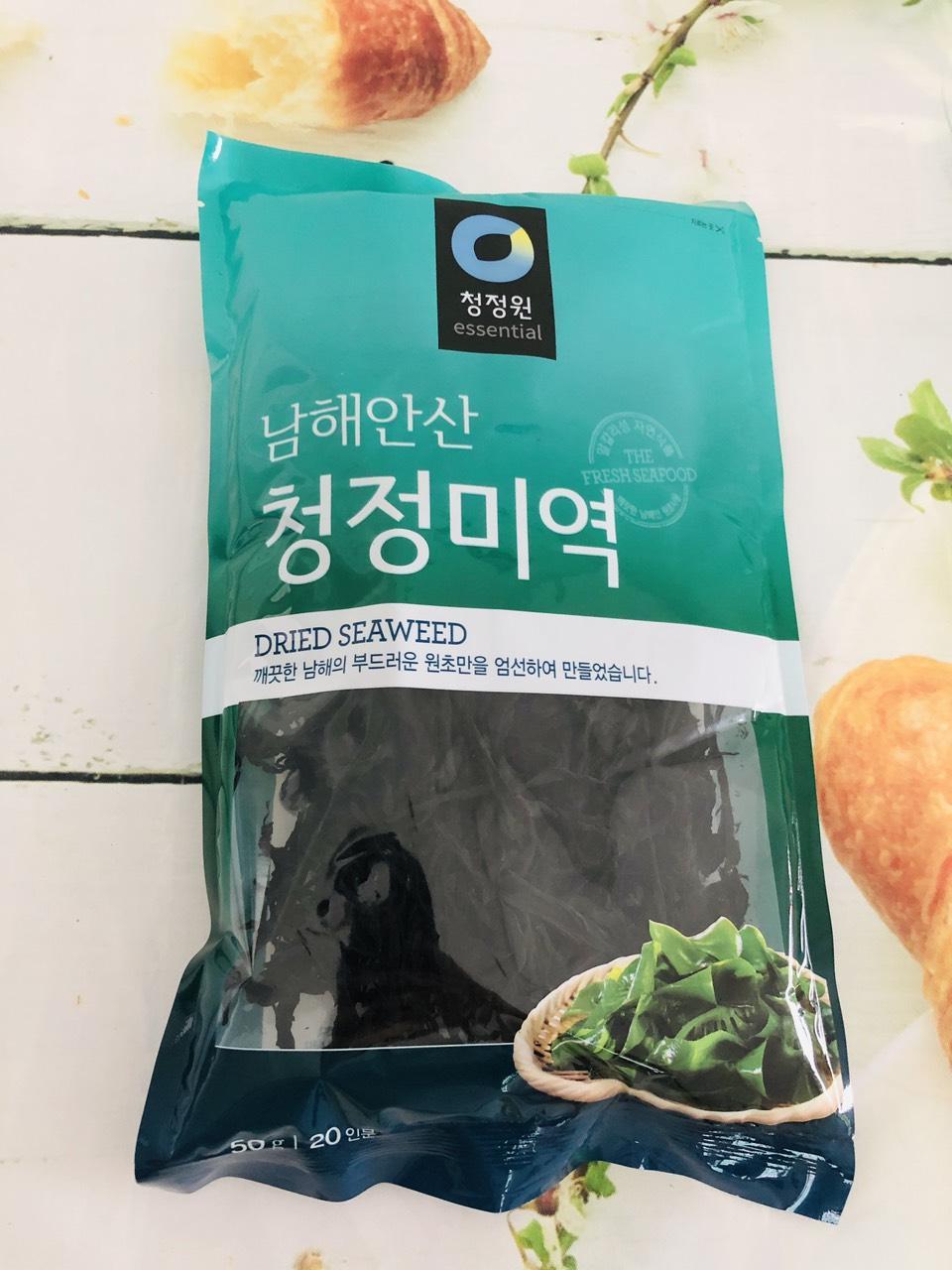 Gói 25g Rong biển nấu canh Hàn Quốc Daesang - ronghhfhsdf