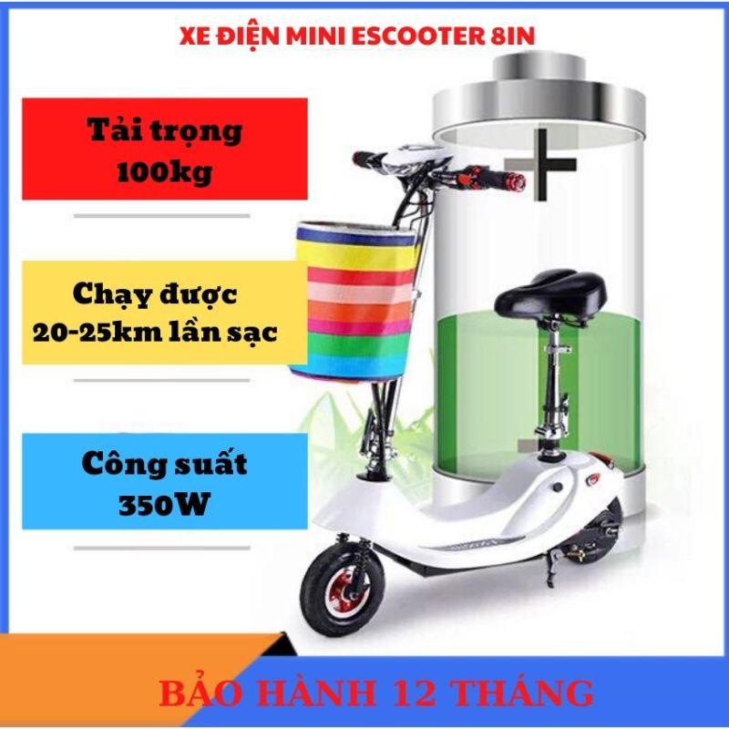 Phân phối Xe Điện Mini, Xe Điện Mini Gấp Gọn Scooter, Xe Đạp Điện Cho Học Sinh, Xe Điện Giá Rẻ Dưới 5 Triệu tiện ích
