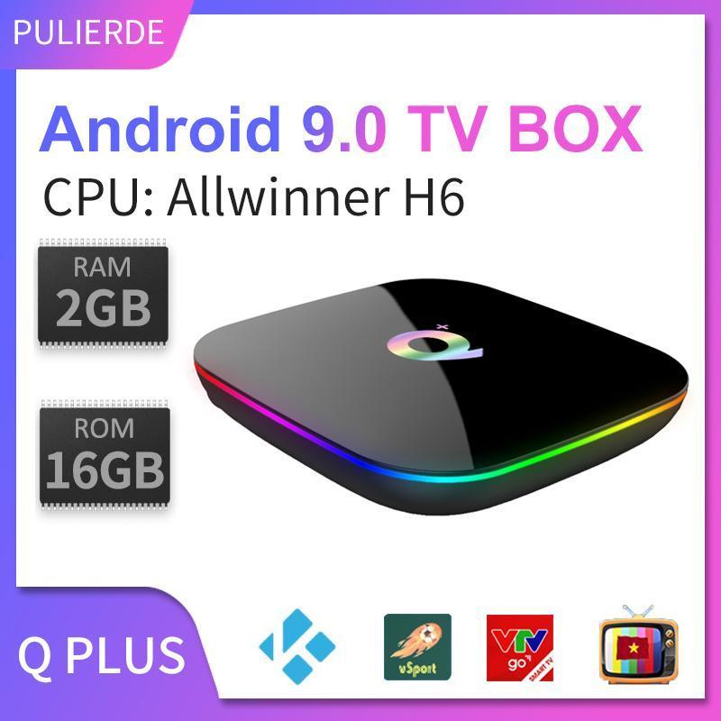 Bảng giá [Hot Deal][Hộp Tivi Thông minh] Hộp TV thông minh Q plus Allwinne HDH android 9.0 cấu hình 2GB/4GB RAM 16GB/32GB/64GB ROM hỗ trợ độ phân giải 6K 2.4GHz tích hợp kết nối wifi Điện máy Pico