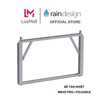 GIÁ ĐỠ TẢN NHIỆT RAIN DESIGN (USA) MBAR PRO+ FOLDABLE LAPTOP GRAY - RD-10085 - HÀNG CHÍNH HÃNG thumbnail