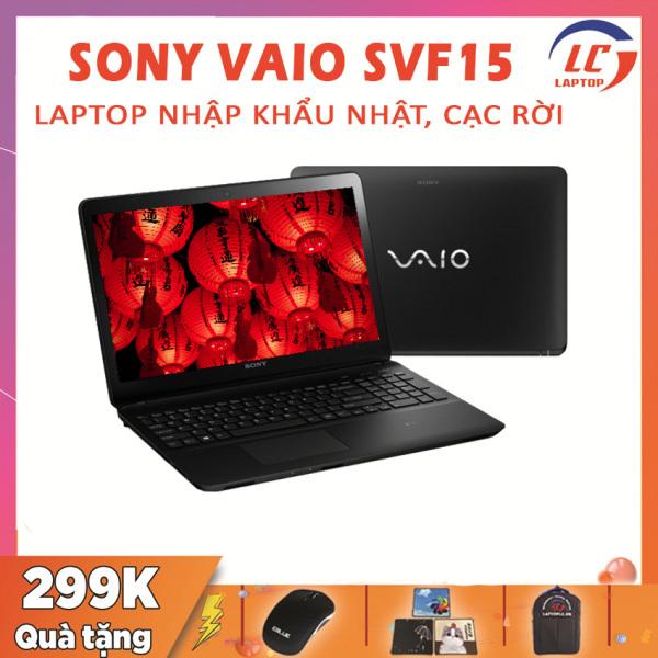 Bảng giá Laptop Sony VAIO SVF15 Hàng Nhập Khẩu Nhật, Card Rời, i5-4210U, VGA NVIDIA GT 740M-2G, Màn 15.6 FullHD IPS, Laptop Sony, Laptop i5, Laptop Giá Rẻ Phong Vũ