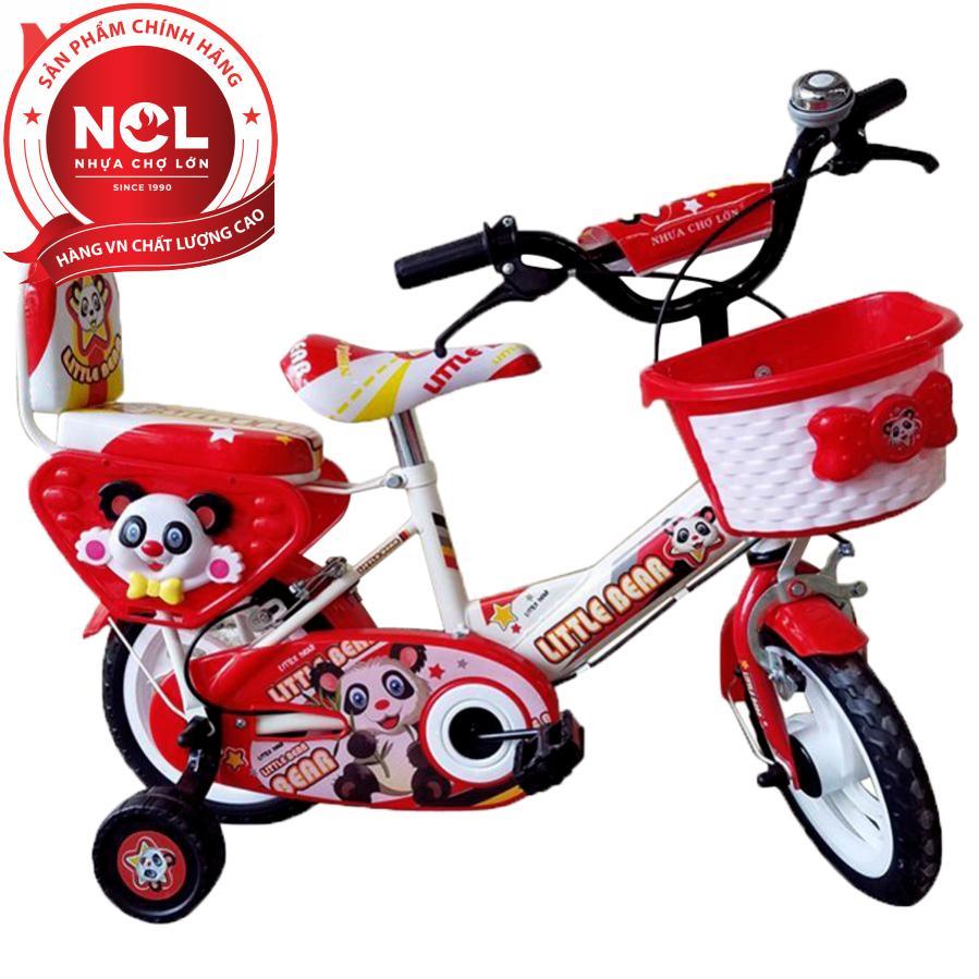 Mua Xe đạp trẻ em Nhựa Chợ Lớn 14 inch K85 - M1566-X2B