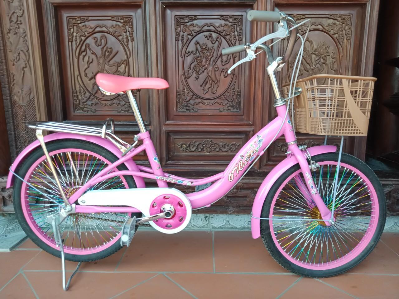 Mua Xe đạp học sinh, khung thép sơn tĩnh điện, 20 inch, sản xuất tại Việt Nam