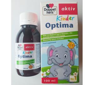 Vitamin khoáng chất KINDER OPTIMA 100ML - Tăng cường thể trạng, cải thiện tầm vóc cao lớn thumbnail