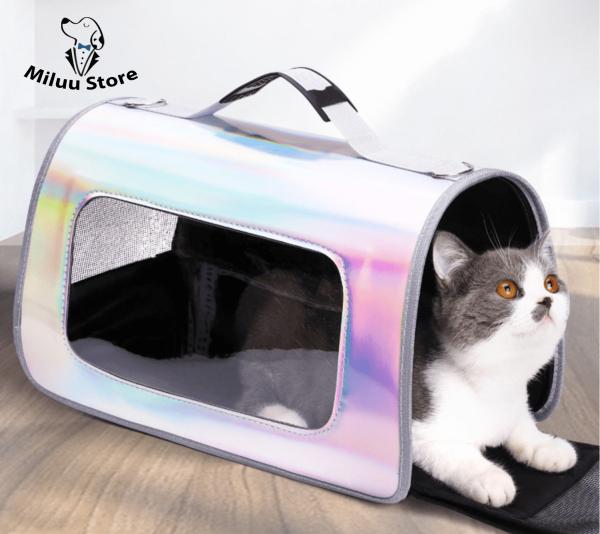 Túi vận chuyển chó mèo, túi thú cưng ánh quang