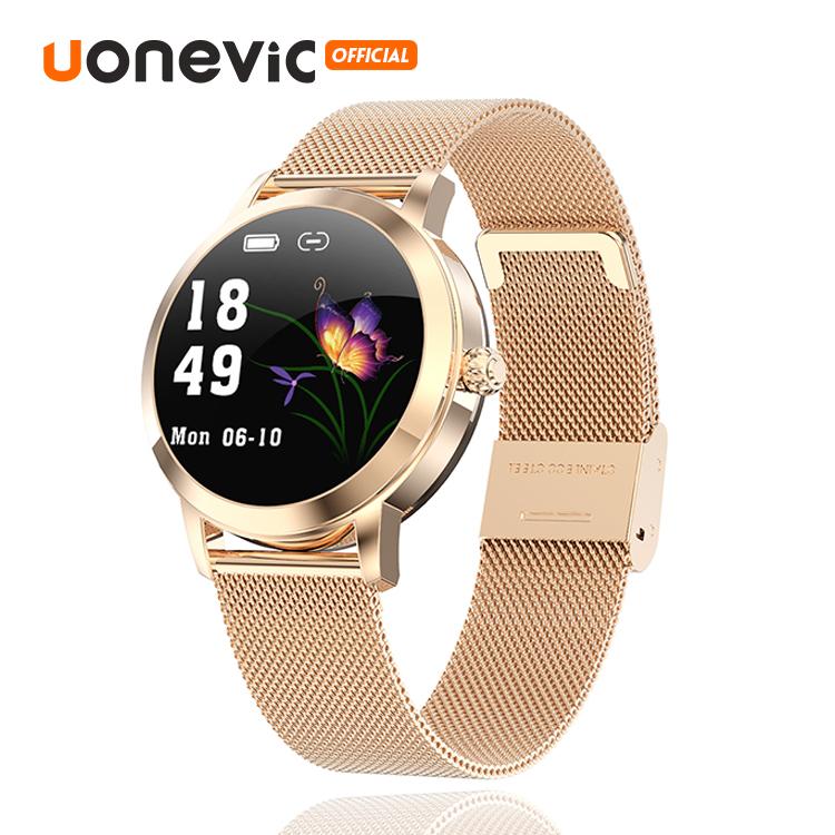 Đồng hồ thông minh Uonevic LW10 cho nữ đồng hồ chống thấm nước IP68 theo dõi sức khỏe cho Android IOS - INTL