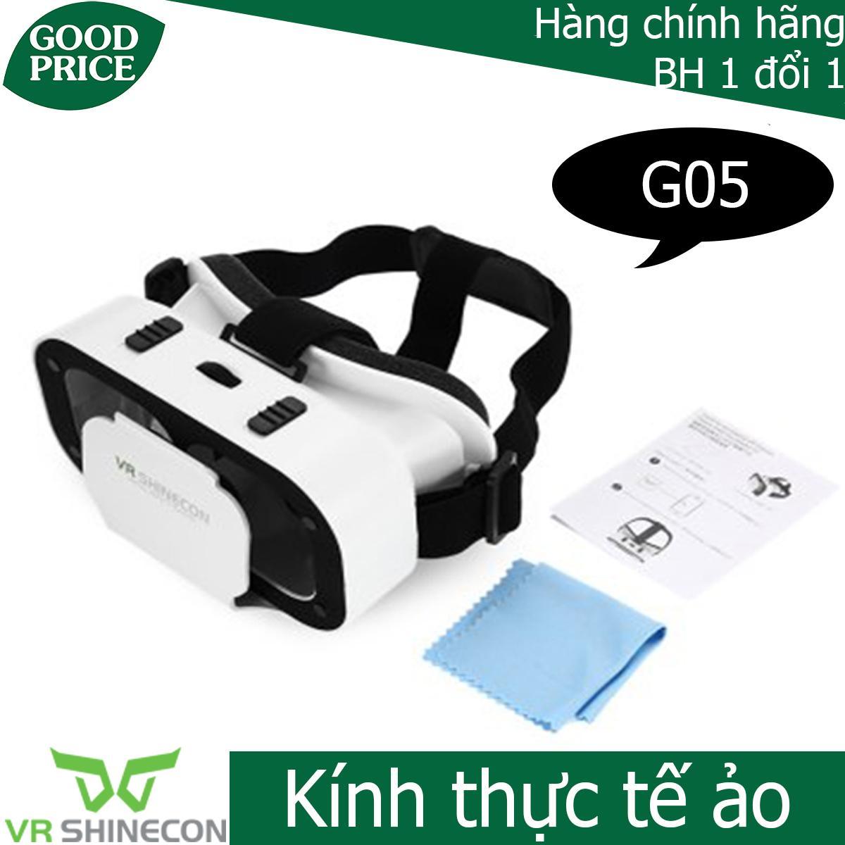 Kính 3D Vr Shinecon G05 - Kính Thực Tế ảo Vr Shinecon G05 Có Giá Cực Tốt