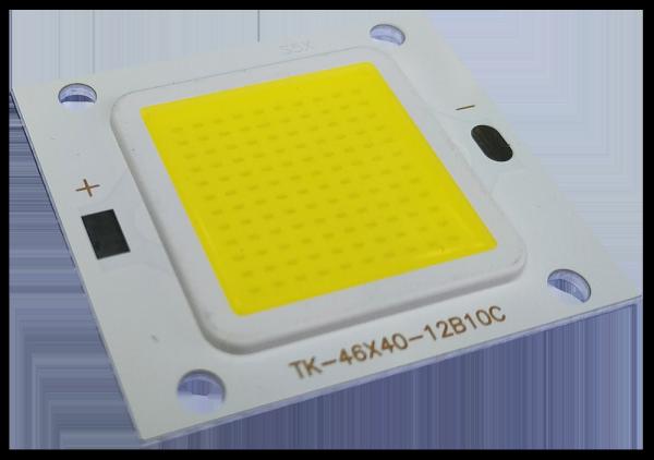 CHÍP LED COB EPISTAR 50w , kèm holder chụp chíp
