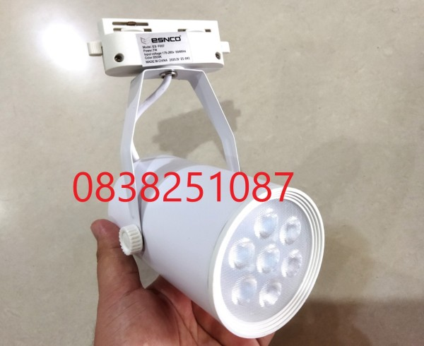 Bảng giá [HCM]Đèn LED soi tranh 7w cao cấp ( Thân trắng ) ĐÈN RAY 7W
