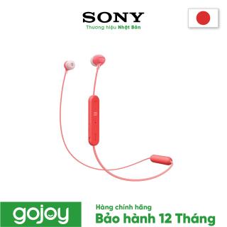 Tai nghe không dây nhét tai SONY WI-C300 Màu Đỏ- Bảo hành chính hãng 12 tháng thumbnail