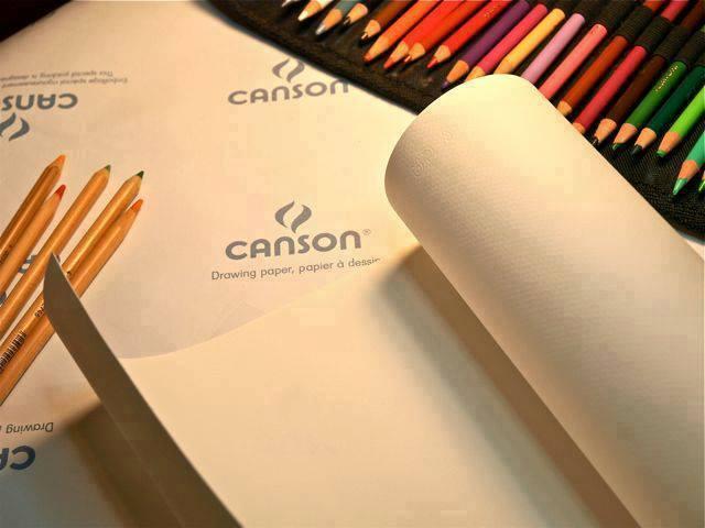 Mua GIẤY CANSON - 125 gsm (5 tờ A3 đúng)