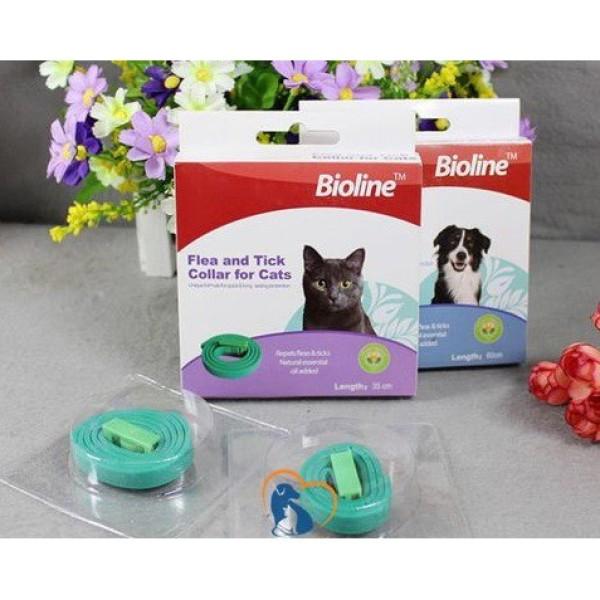 Vòng cổ trị ve rận cho Chó Mèo Bioline