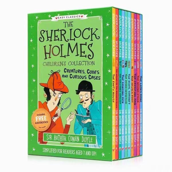 Sherlock holmes - truyện trinh thám - Phần 3 - Phiên bản tiếng anh dành cho thiếu nhi
