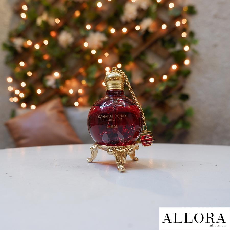 Nước hoa tinh dầu Dubai Amor hương trái cây, xạ hương 30 mL nhập khẩu