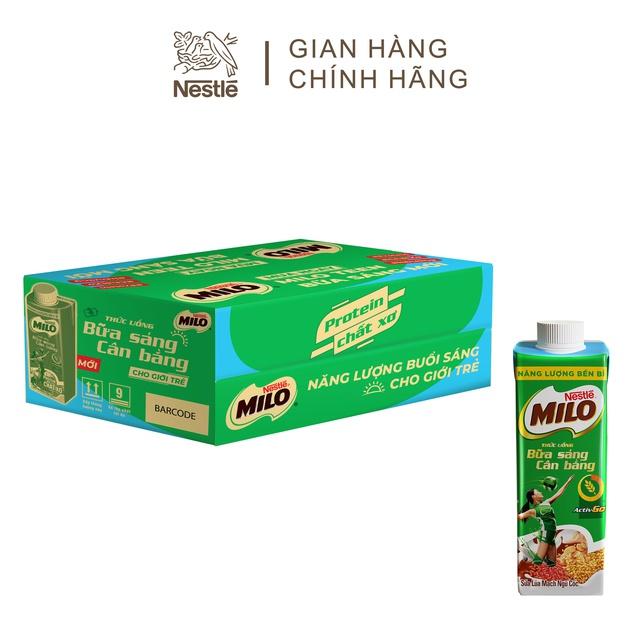 Sữa lúa mạch ngũ cốc Nestlé MILO 200 ml/hộp (Thùng 24 hộp)